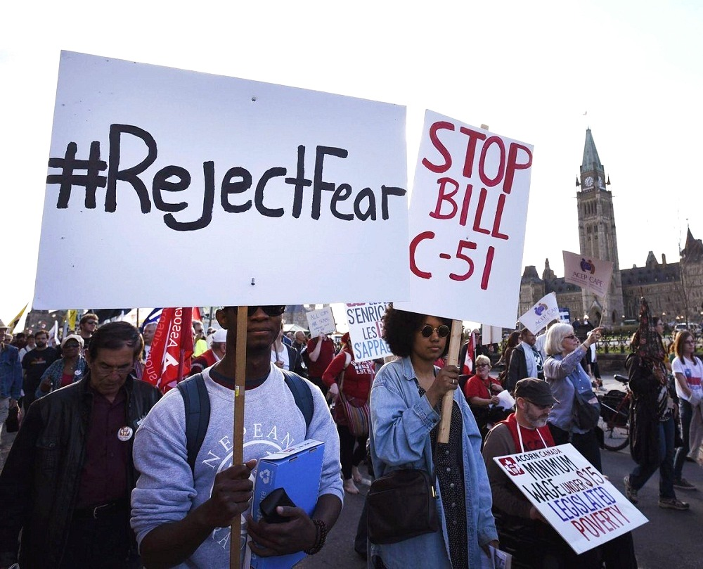 What Canadians think about Bill C 51