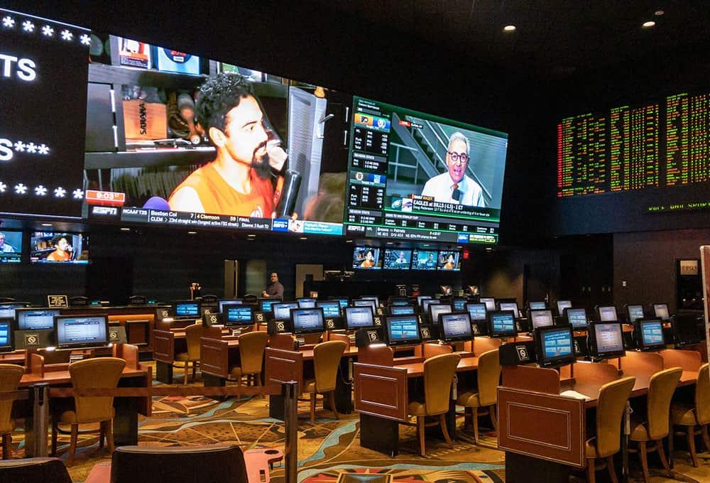 Main betting office